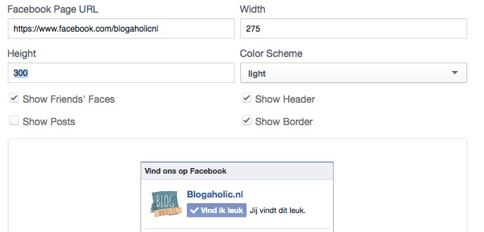 Facebook-likes plugin