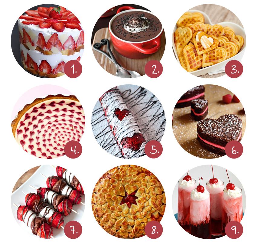 valentijn desserts