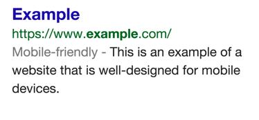 Google & responsive blogs