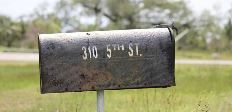 OPruiming mailbox