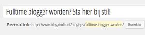 Wordpress-fouten: lange slugs