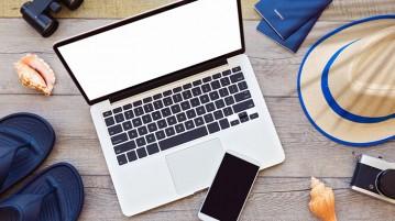 Bloggen tijdens vakantie