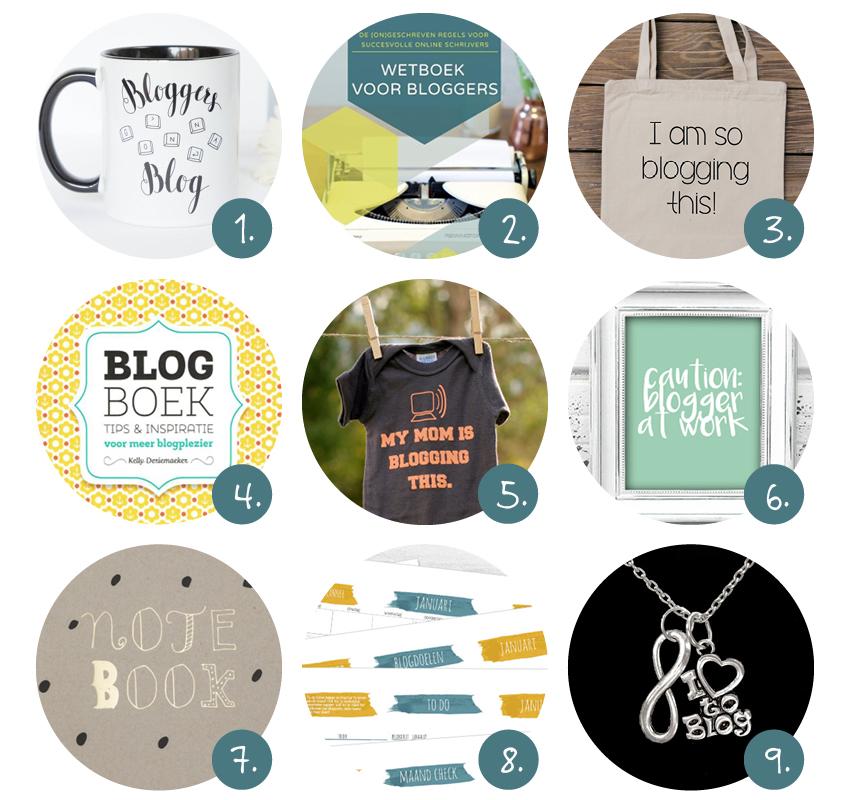 Kerstcsadeautjes voor bloggers