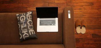 De favoriete 'werkplekken' van een mobiele blogger